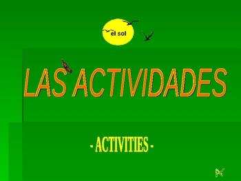 Activities & Reflexives