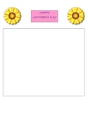 Activities, Stationery, and  Templates for the March, April, May and June