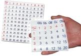 Activities Using a Simple Folding Hundreds Chart