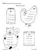 Activities With Rhyming Words