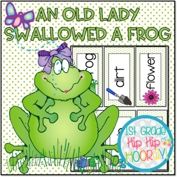 Activities and Craft...Old Lady Who Swallowed a Frog