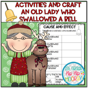 Activities and Craft for The Old Lady Who Swallowed a Bell!