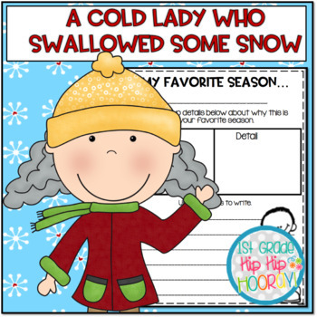 Activities and Craft with a Cold Lady Who Swallowed Some Snow!