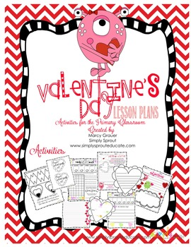 Activities and Craftivity for Valentine's Day that support Common core