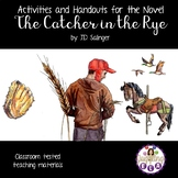 Activities and Handouts for The Catcher in the Rye by J.D. Salinger