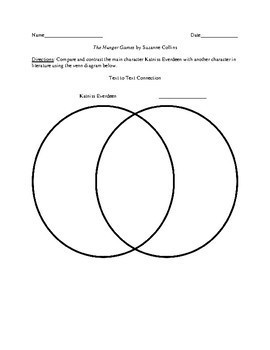 Activities and Handouts for The Hunger Games by Suzanne Collins