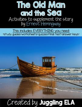 Activities and Handouts for The Old Man and the Sea by Ernest Hemingway