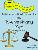 Activities and Handouts for the play Twelve Angry Men by R