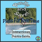 Activities and Leisure Time Thematic Bundle