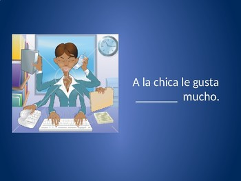 Activities and Likes in Spanish Interactive Powerpoint