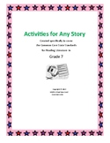 Activities for Any Story - CCSS for Reading Literature - Grade 7
