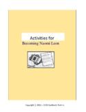 Activities for Becoming Naomi Leon