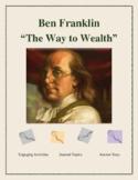 "Activities for Ben Franklin's ""The Way to Wealth"""