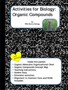 Activities for Biology: Organic Compounds