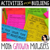 Back to School Activities Growth Mindset Activities MATH G