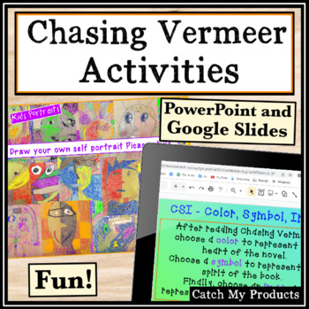 Activities for Chasing Vermeer and Art Studies for Gifted and Talented Students