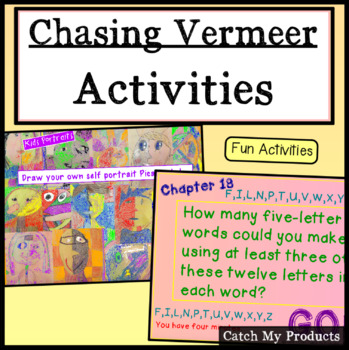 Activities for Chasing Vermeer and Art Studies for Prometh