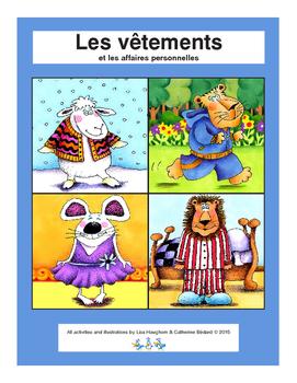 Les vêtements : les activités et le vocabulaire autour des