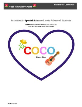 Activities for Coco by Disney-Pixar