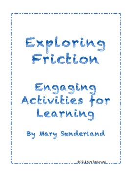 Activities for Exploring Friction