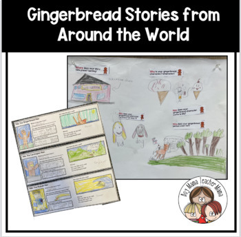 Activities for Gingerbread Men Stories from Around the World
