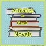 Activities for Great Boy Novels...Bundle