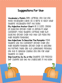 Activities for How Many Seeds In A Pumpkin?