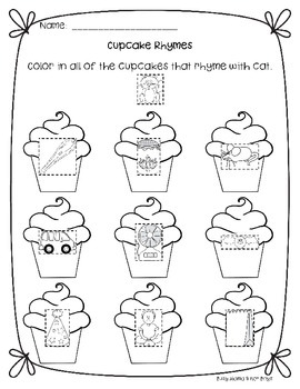 "Activities for Laura Numeroff's ""If You Give a Cat a Cupcake"""