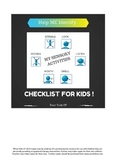 Activities for ME! Sensory Activity Checklist for Kids by