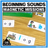 Activities for Magnetic Letters - Beginning Sounds