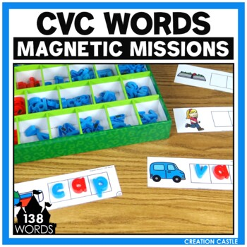 Activities for Magnetic Letters - CVC Words