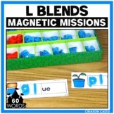 Activities for Magnetic Letters - L Blends