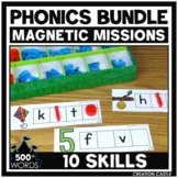 Activities for Magnetic Letters - Phonics Bundle