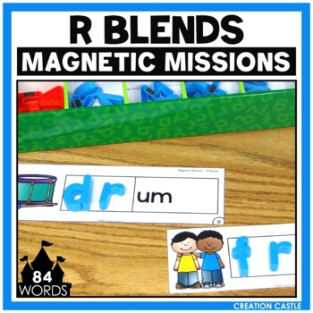 Activities for Magnetic Letters - R Blends