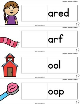 Activities for Magnetic Letters - S Blends