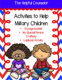 Activities for Military Children: Booklet, Lapbook, and Craftivity