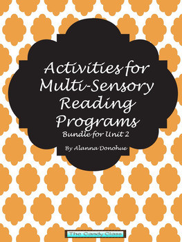 Activities for Multi-Sensory Reading Activities  Bundle 2