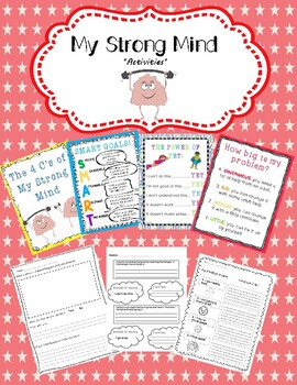 """Activities for """"My Strong Mind"""" by Niels van Hove *Growth Mindset*"""