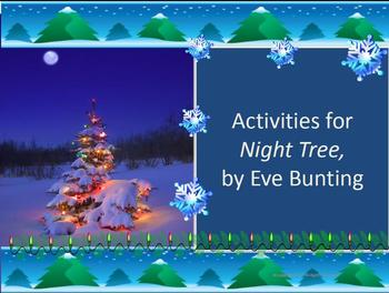 """Activities for """"Night Tree,"""" by Eve Bunting"""