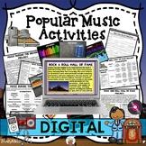 Activities for Popular Music Through the Decades (Digital Google Version)