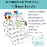 Activities for Prefixes - Chameleon Prefixes 4-Game Bundle