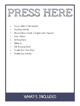 Activities for Press Here by Herve Tullet