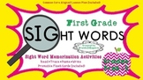 Activities for Sight Word Memorization First Grade