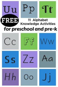 Activities for Teaching Alphabet Knowledge