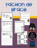 Activities for Thanksgiving/Action de Grace