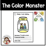 Activities for The Color Monster by Anna Llenas
