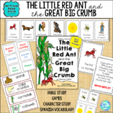 Read Aloud Interactive Fable Activities: Little Red Ant and the Great Big Crumb
