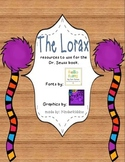 Activities for The Lorax