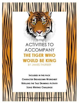 Activities for The Tiger Who Would Be King