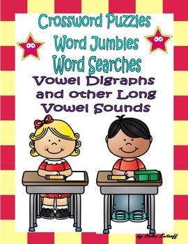 Activities for Vowel Digraphs and Other Long Vowel Sounds
